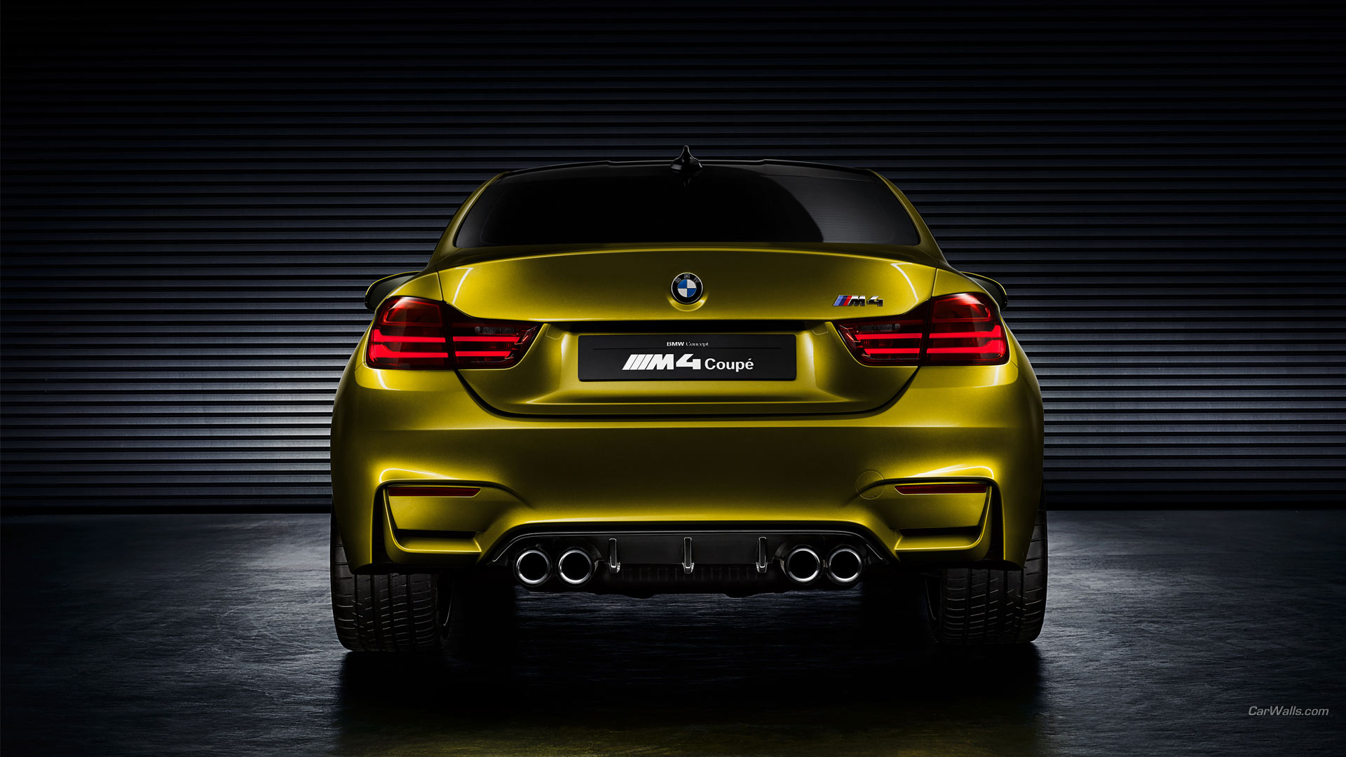 2013 BMW M4 Coupe Concept Full HD Wallpaper and ...