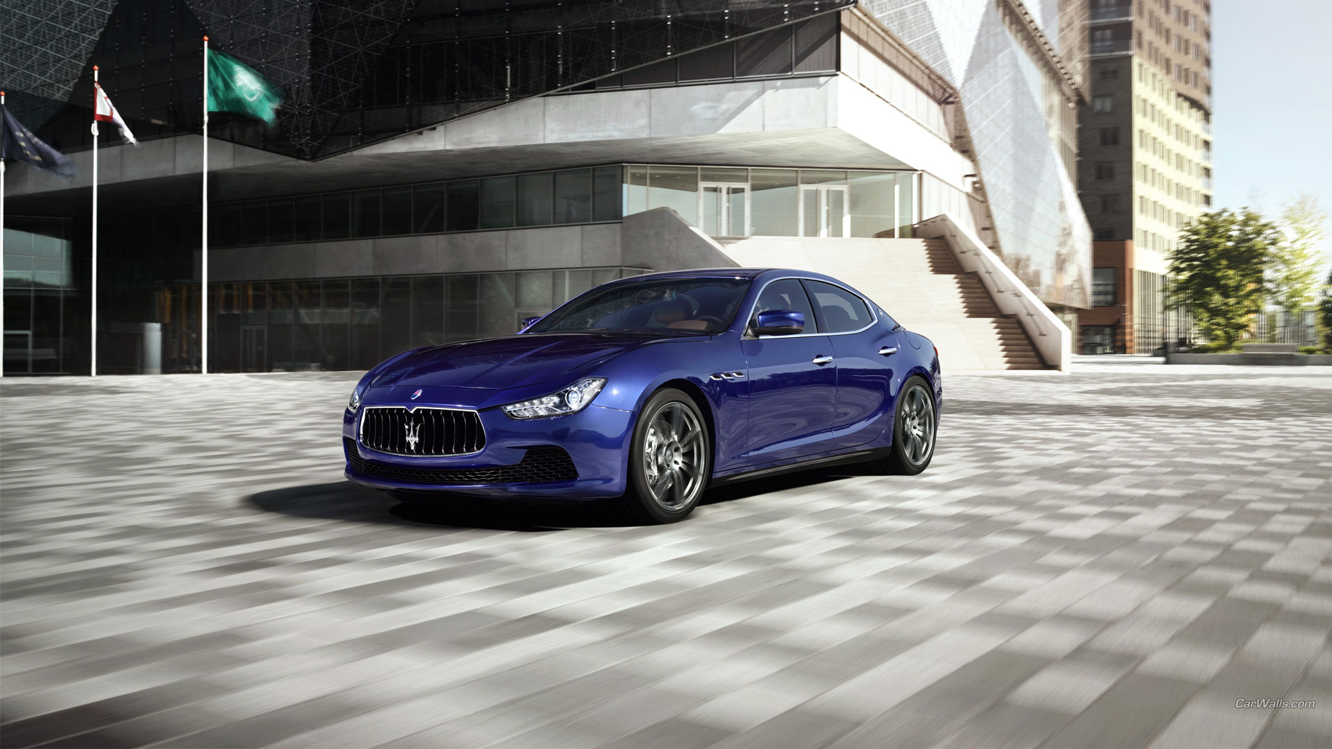 Maserati Ghibli Full HD Wallpaper and Background ...
