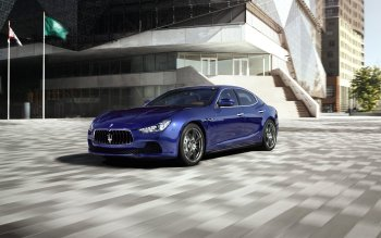 Vehicles - 2014 Maserati Ghibli Wallpapers and Backgrounds ID : 450603