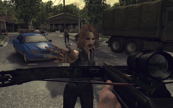 Video Game The Walking Dead: Survival Instinct Zombie HD Wallpaper | Background Image