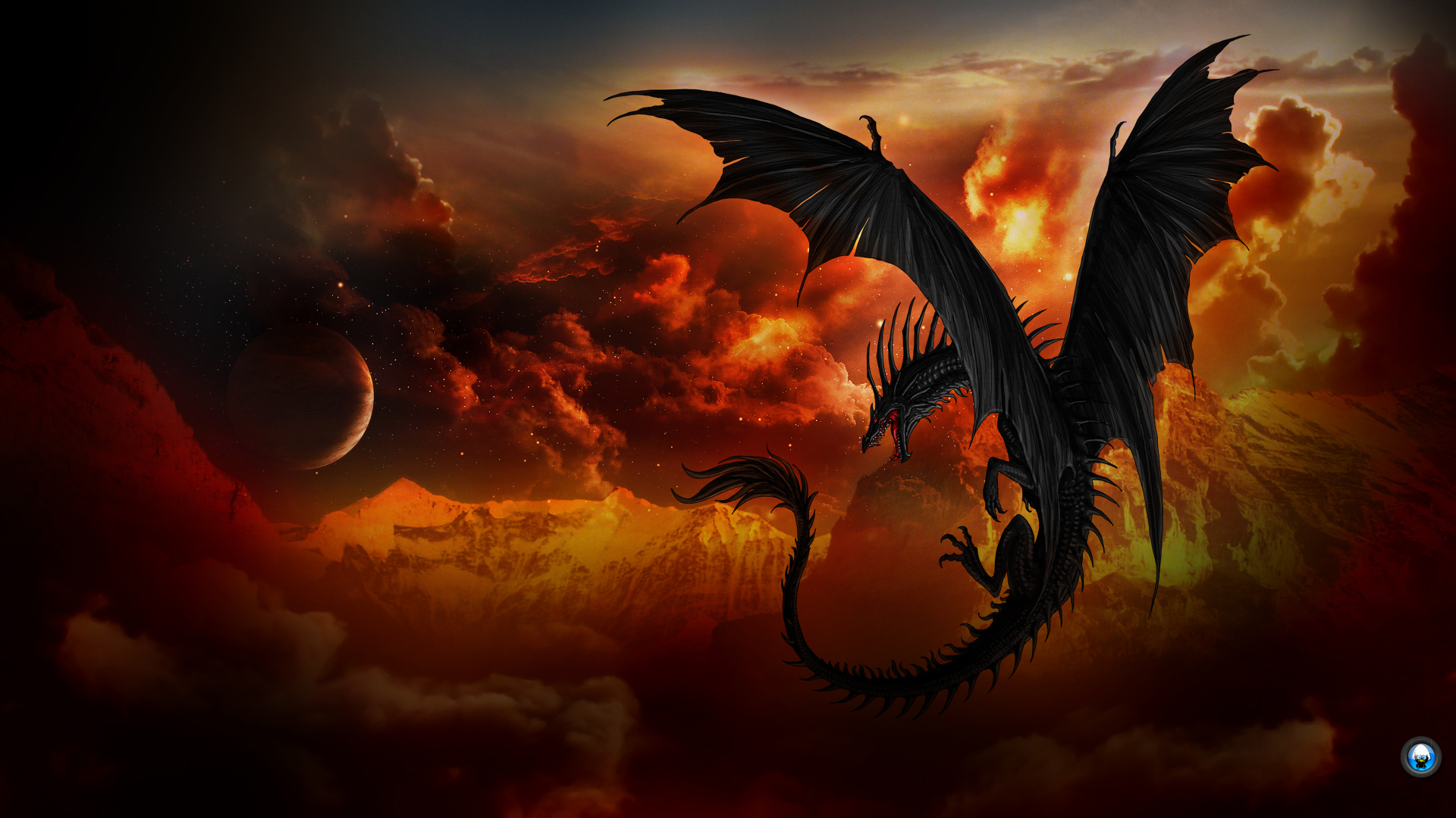 Dragon Full HD Wallpaper and Background 1920x1080 ID451186