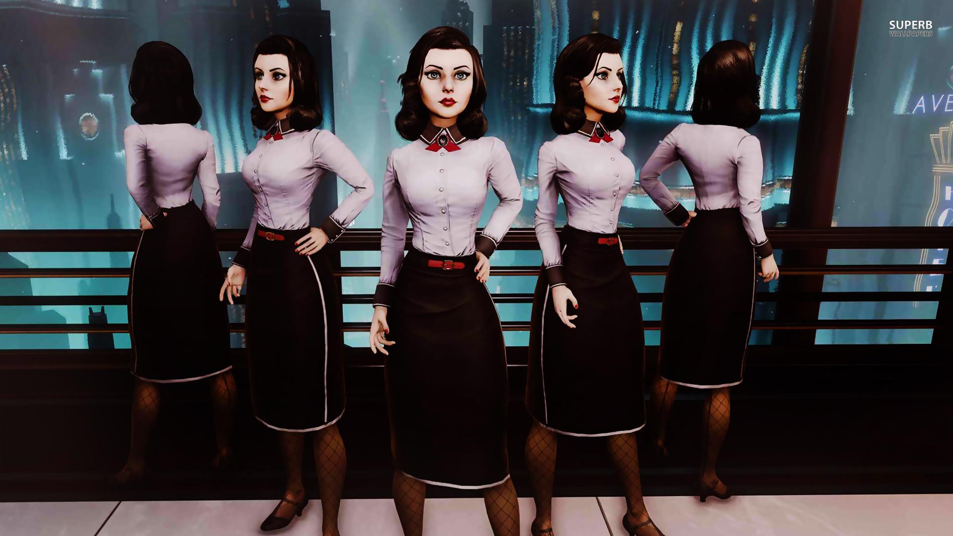Elizabeth Concept Character HD Wallpaper