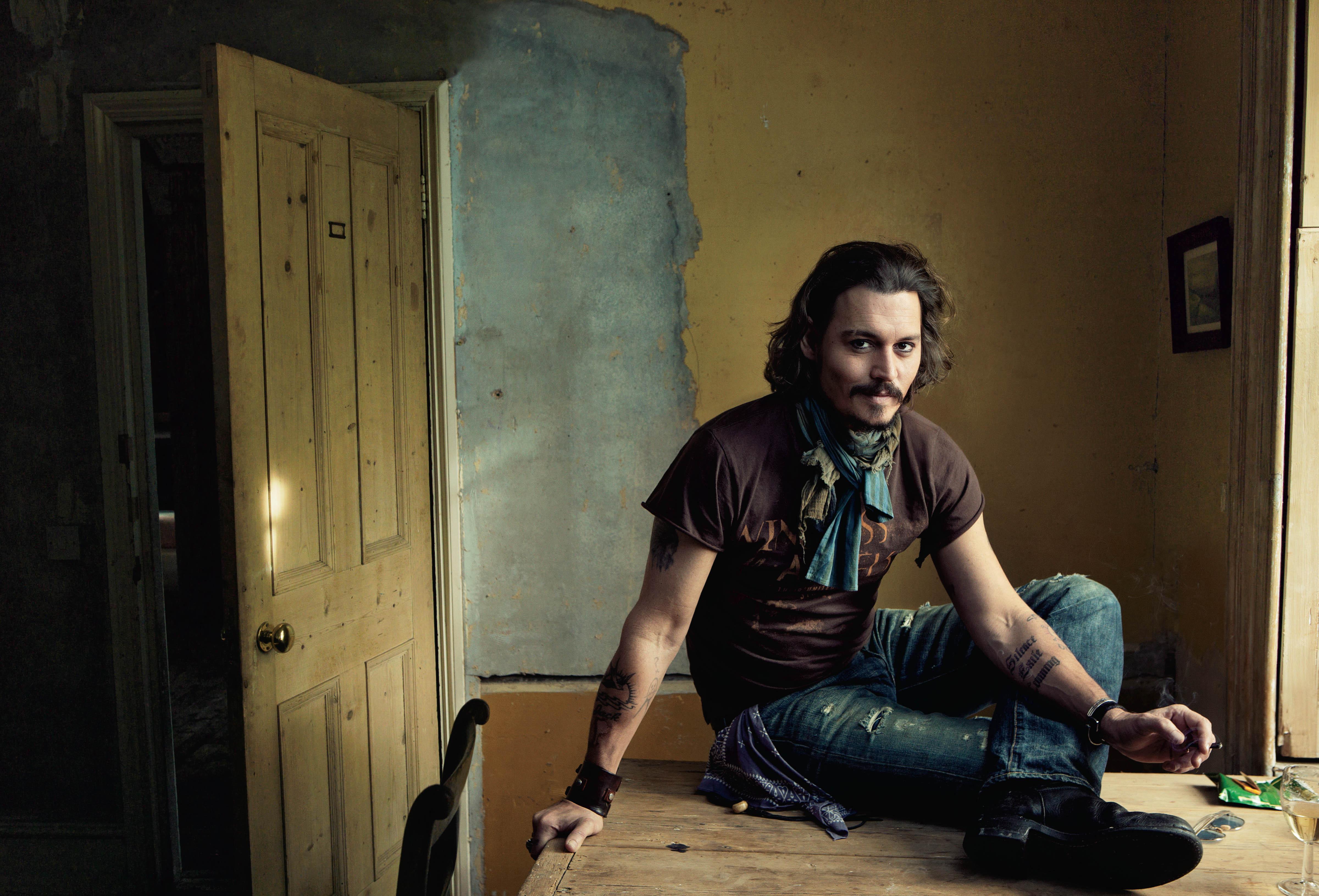 Beroemdheden - Johnny Depp  Wallpaper