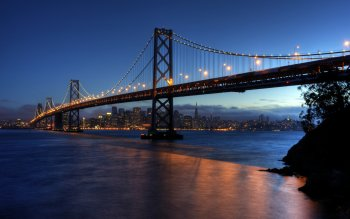 Hecho Por El Hombre - Oakland Bay Bridge Wallpapers and Backgrounds ID : 452254