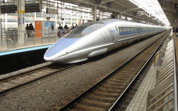 Vehicles Train Railroad Japan Bullet Train HD Wallpaper   Background Image