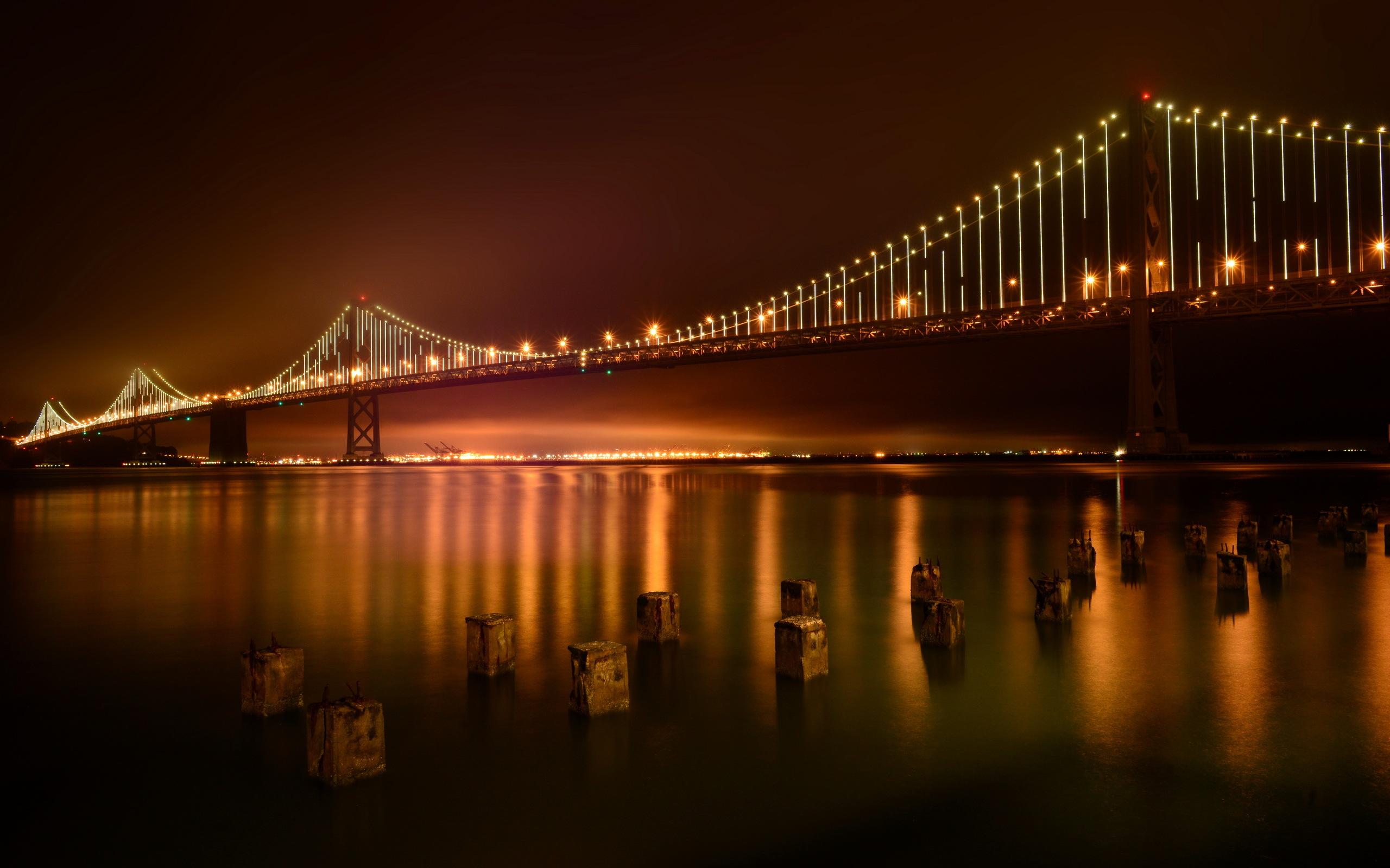 Bay bridge full hd wallpaper and background image - Bridge wallpaper hd ...