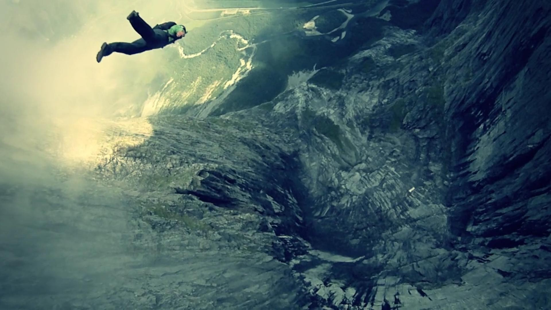 Base Jumping Adventure Sports Wallpaper: Backgrounds - Wallpaper Abyss
