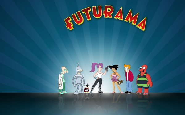 TV Show Futurama Professor Farnsworth Leela Amy Wong Fry Zoidberg Bender HD Wallpaper | Background Image
