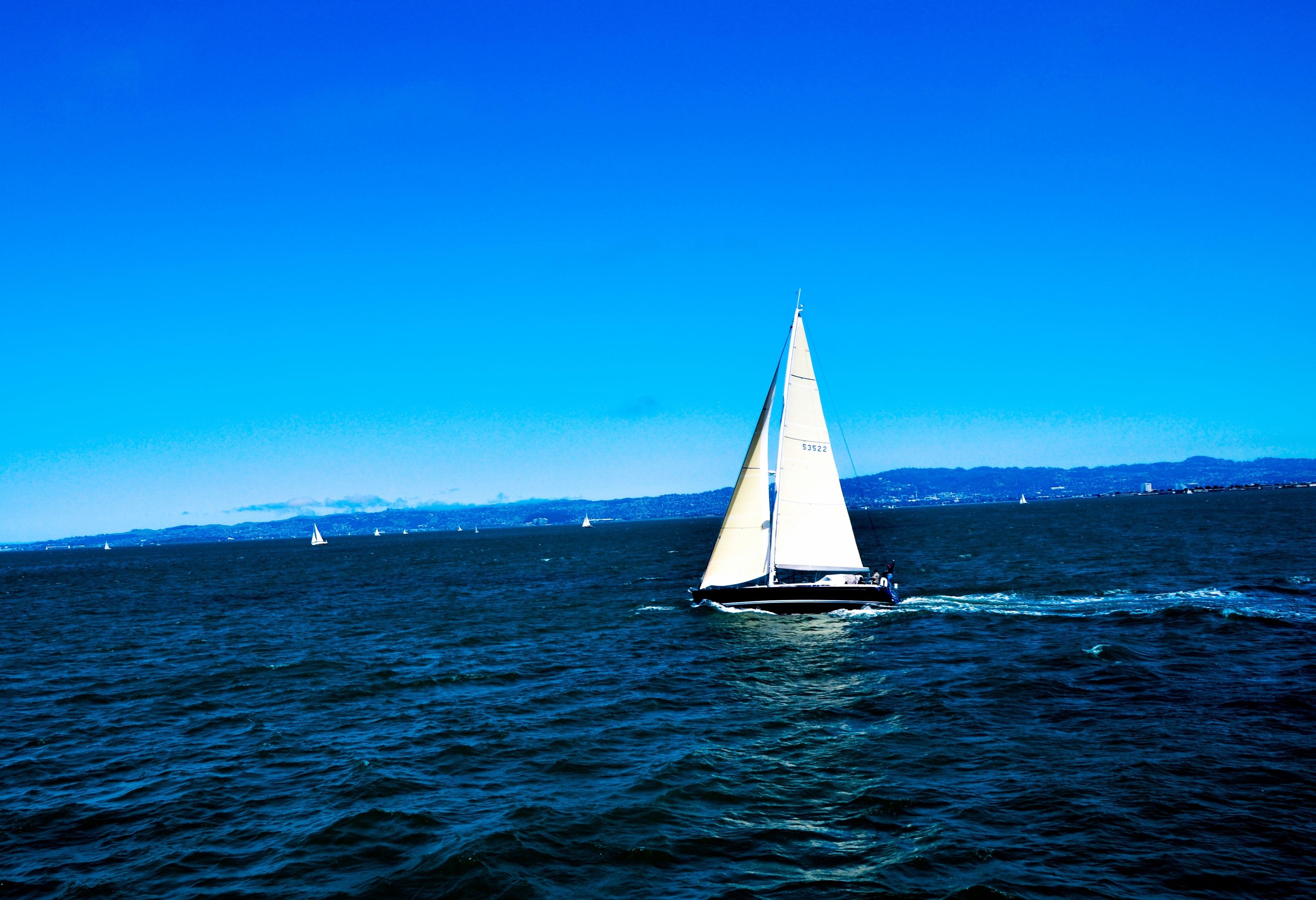 Sailboat 4k Ultra HD Wallpaper