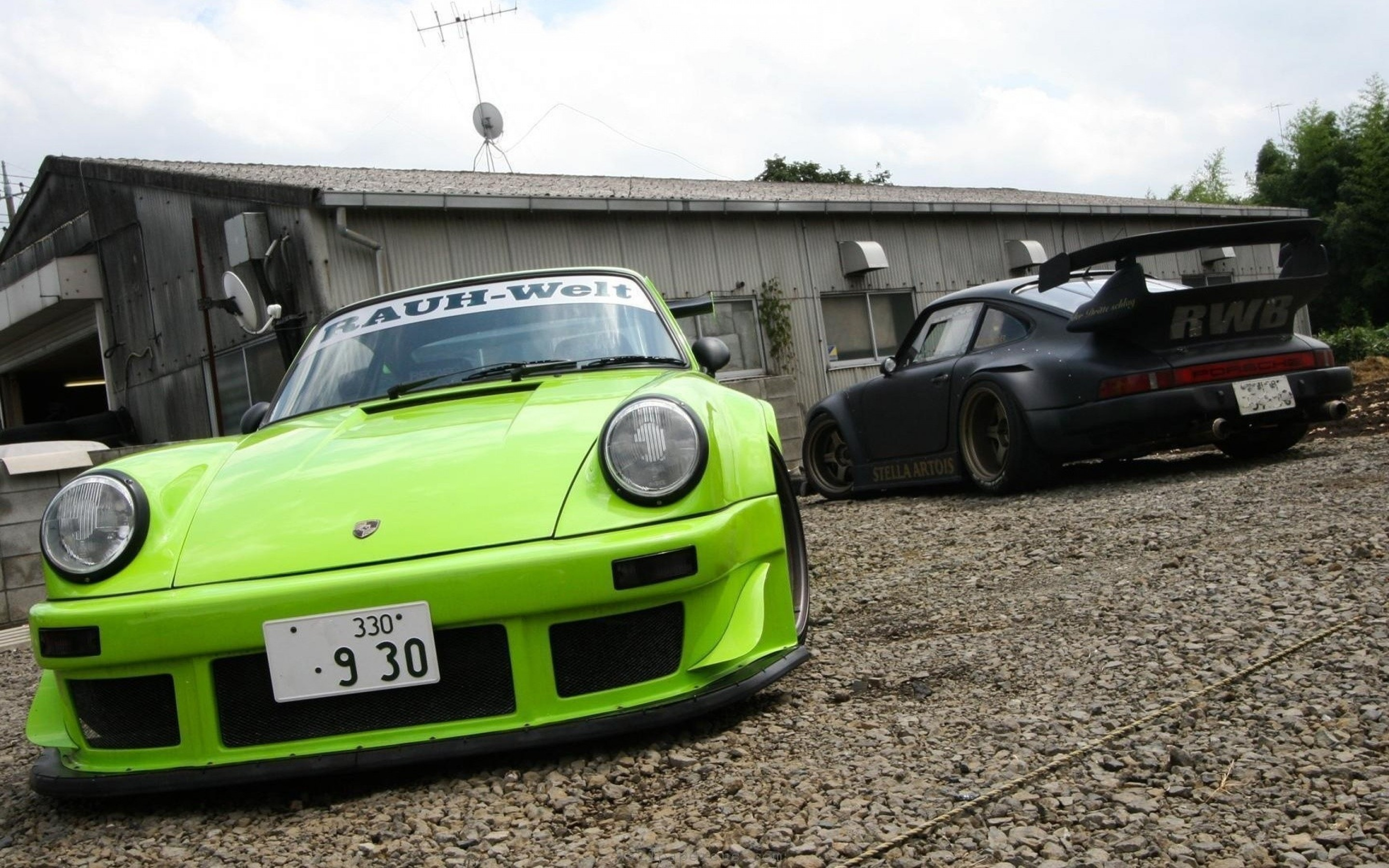 Targa Rwb Walpaper: Porsche 911 Full HD Wallpaper And Background Image