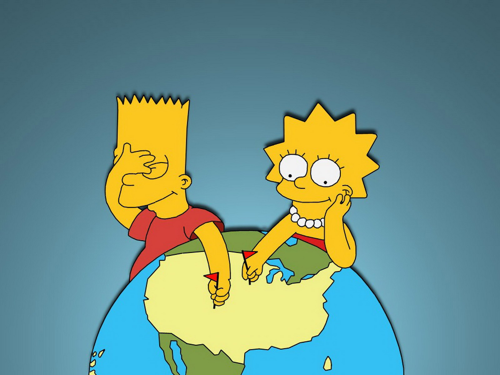 The Simpsons Wallpaper and Background Image   1600x1200 ...