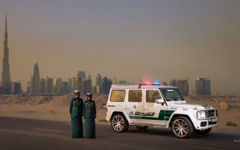 Vehicles - 2013 Brabus B63S 700 Widestar Dubai Police Edition Wallpapers and Backgrounds ID : 457686