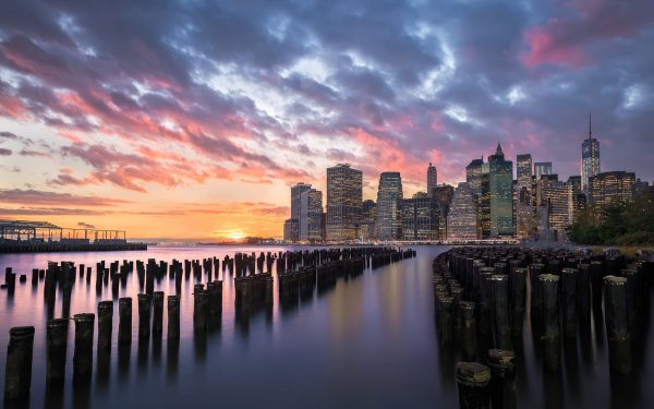 Man Made New York Cities United States HD Wallpaper | Background Image