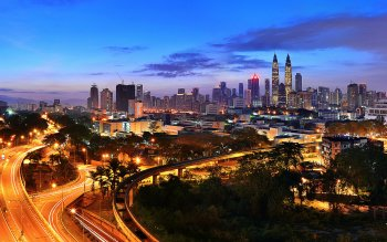 Multi Monitor - Kuala Lumpur Wallpapers and Backgrounds ID : 459698
