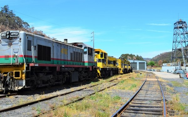 Vehicles Locomotive Train Lithgow HD Wallpaper | Background Image