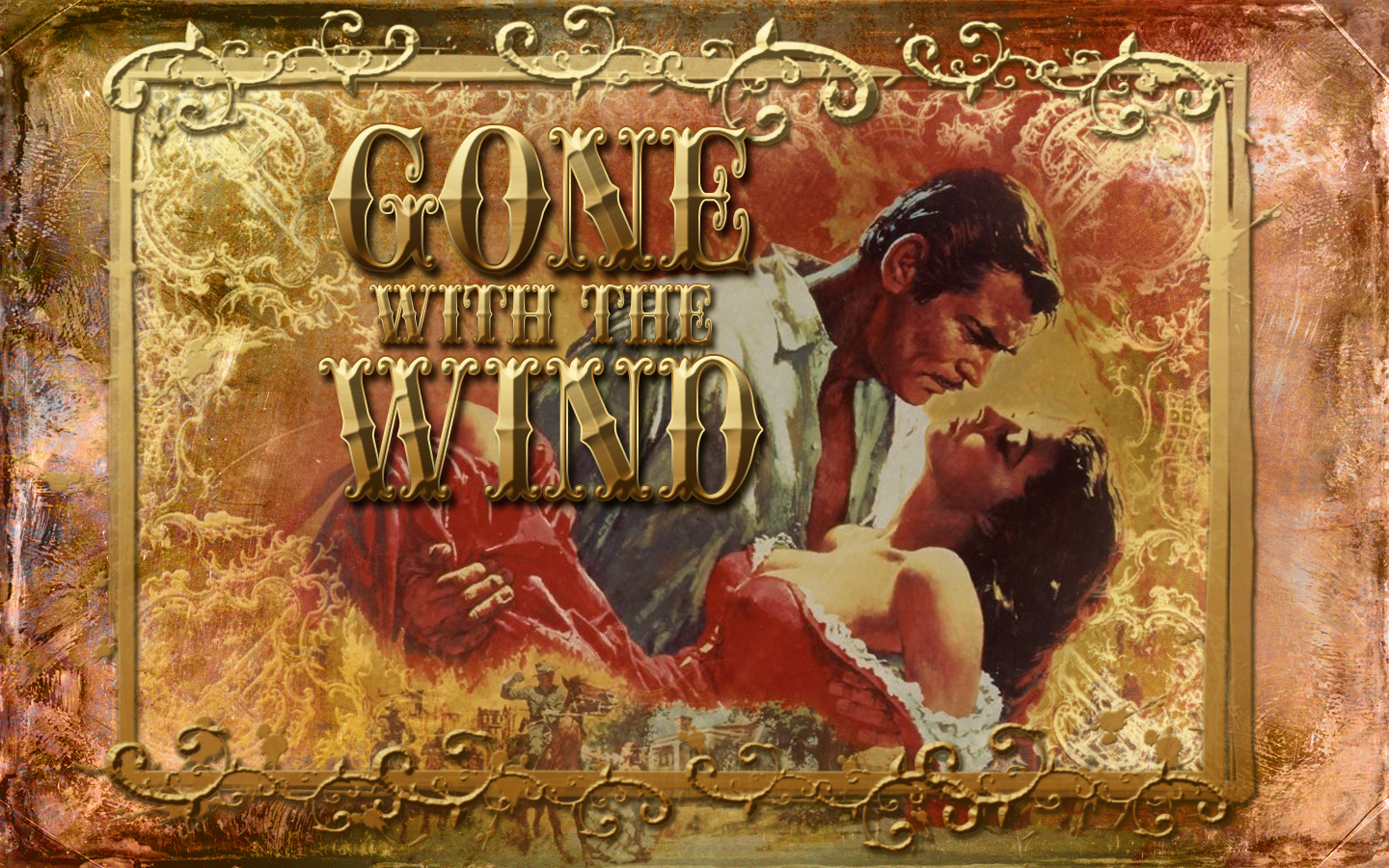 Gone with the wind computer wallpapers desktop backgrounds 1440x900 id 464172 - Gone with the wind download ...