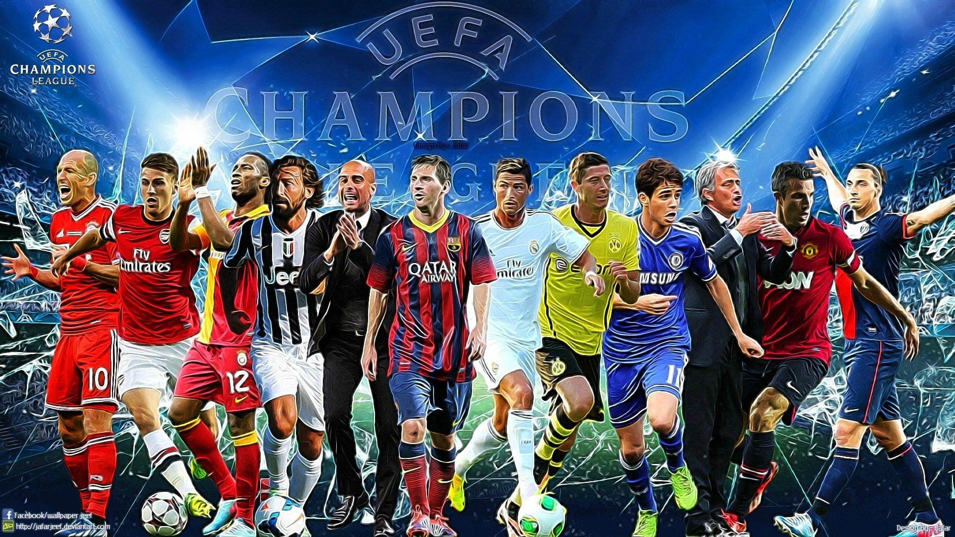 Hasil gambar untuk uefa championship players hd images