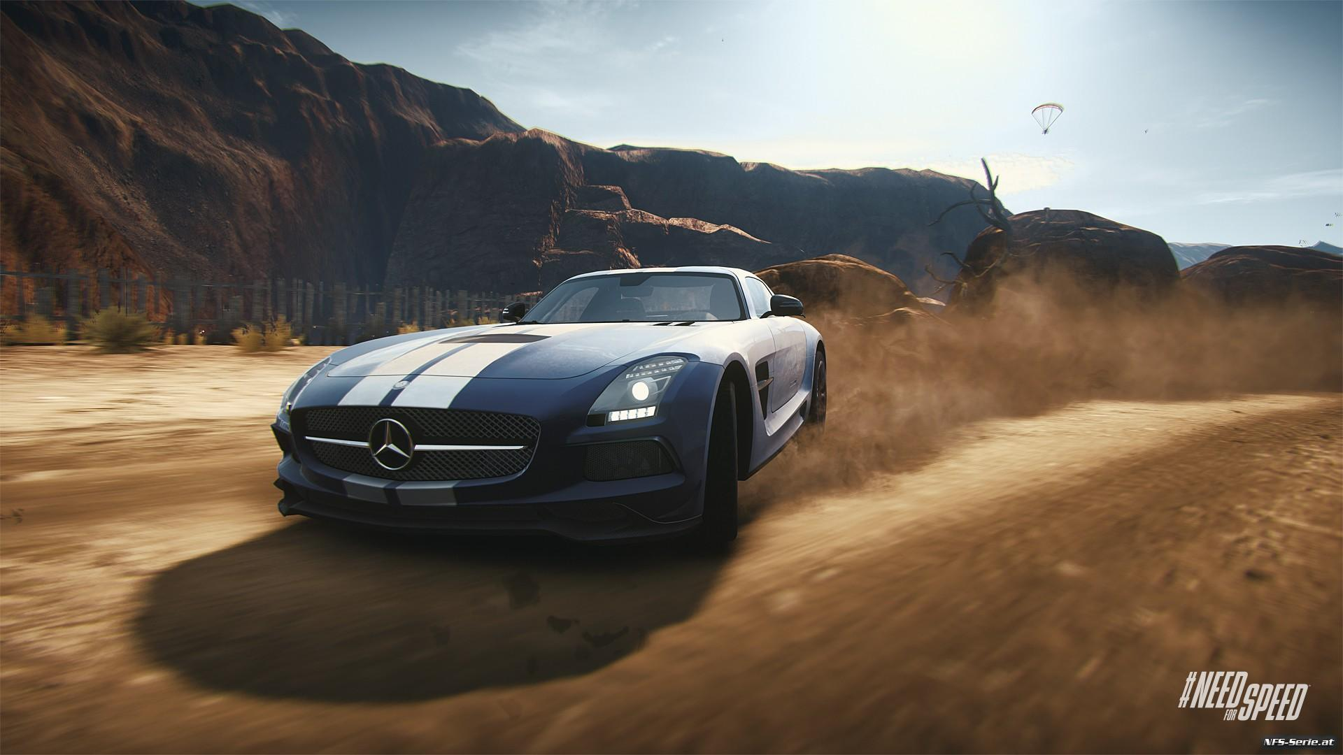 Mercedes Benz SLS AMG Coupe Black Series Full HD Wallpaper And