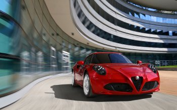 Vehicles - 2014 Alfa Romeo 4C Wallpapers and Backgrounds ID : 466837