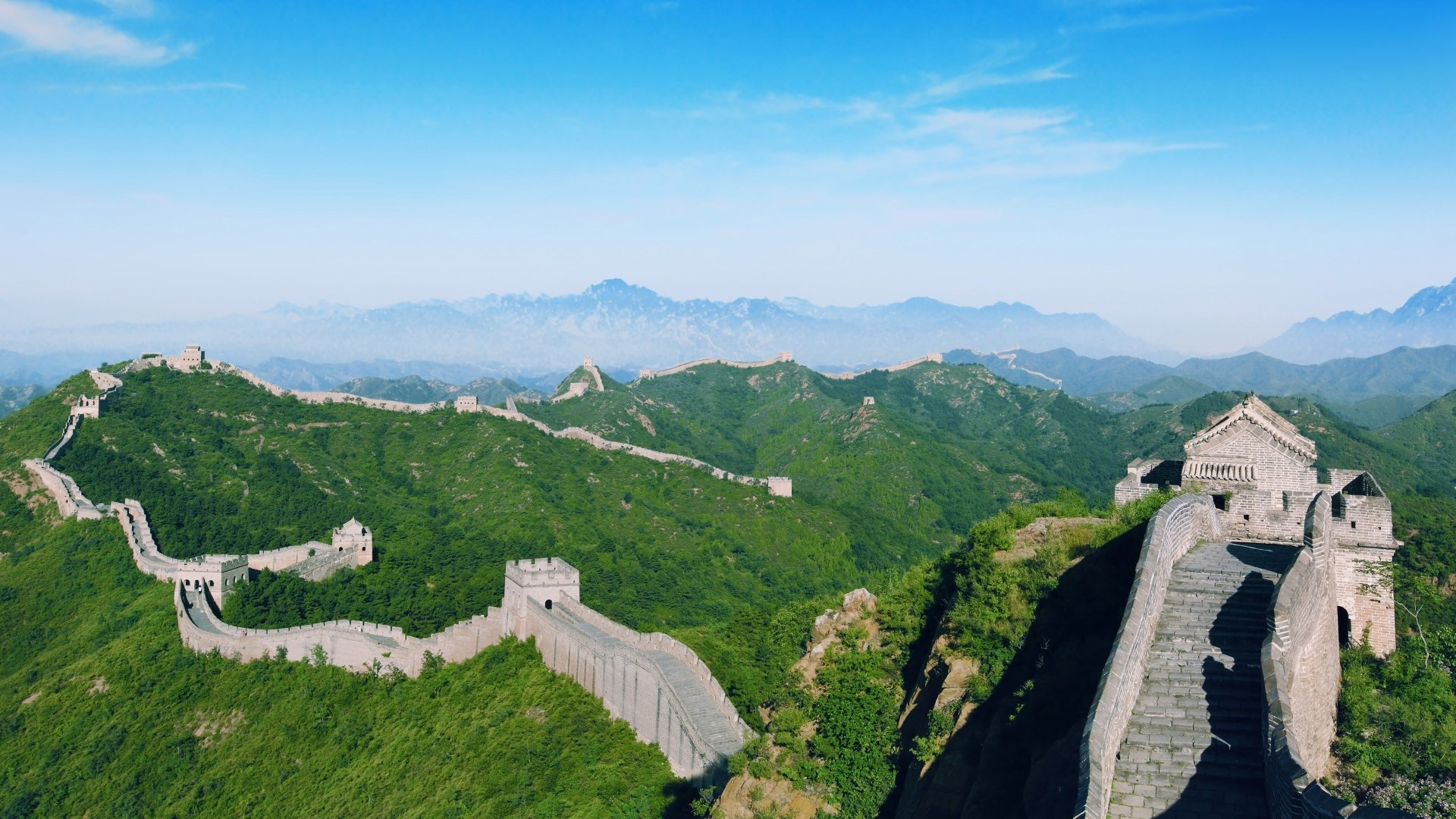 56 Great Wall Of China Hd Wallpapers Background Images Wallpaper