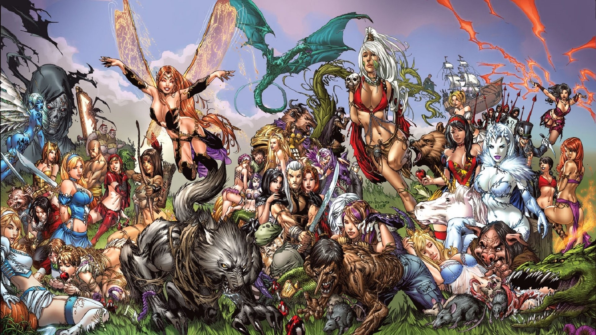 145 grimm fairy tales hd wallpapers | background images - wallpaper