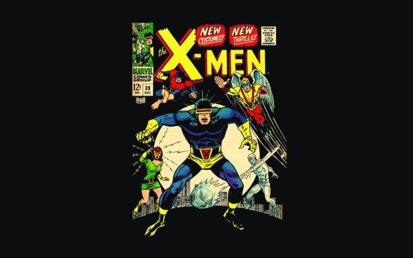 Comics X-Men Cyclops Iceman Jean Grey Beast Angel Marvel Girl HD Wallpaper   Background Image