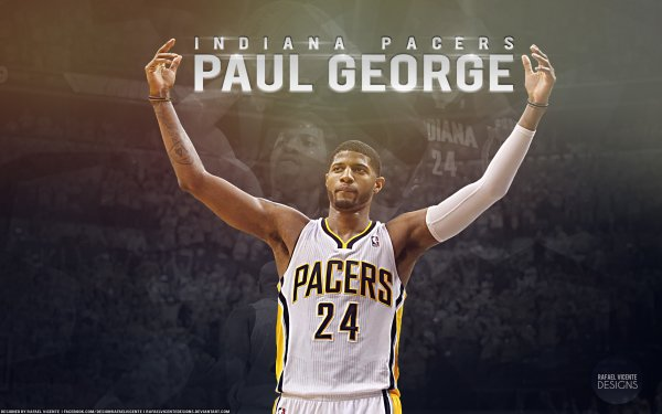 Sports Indiana Pacers Basketball Paul George HD Wallpaper | Background Image