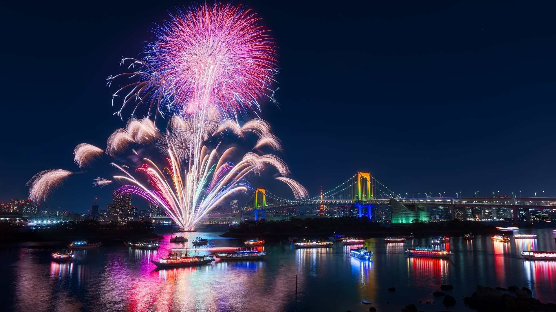 Hd Wallpaper Fireworks: 286 Fireworks HD Wallpapers