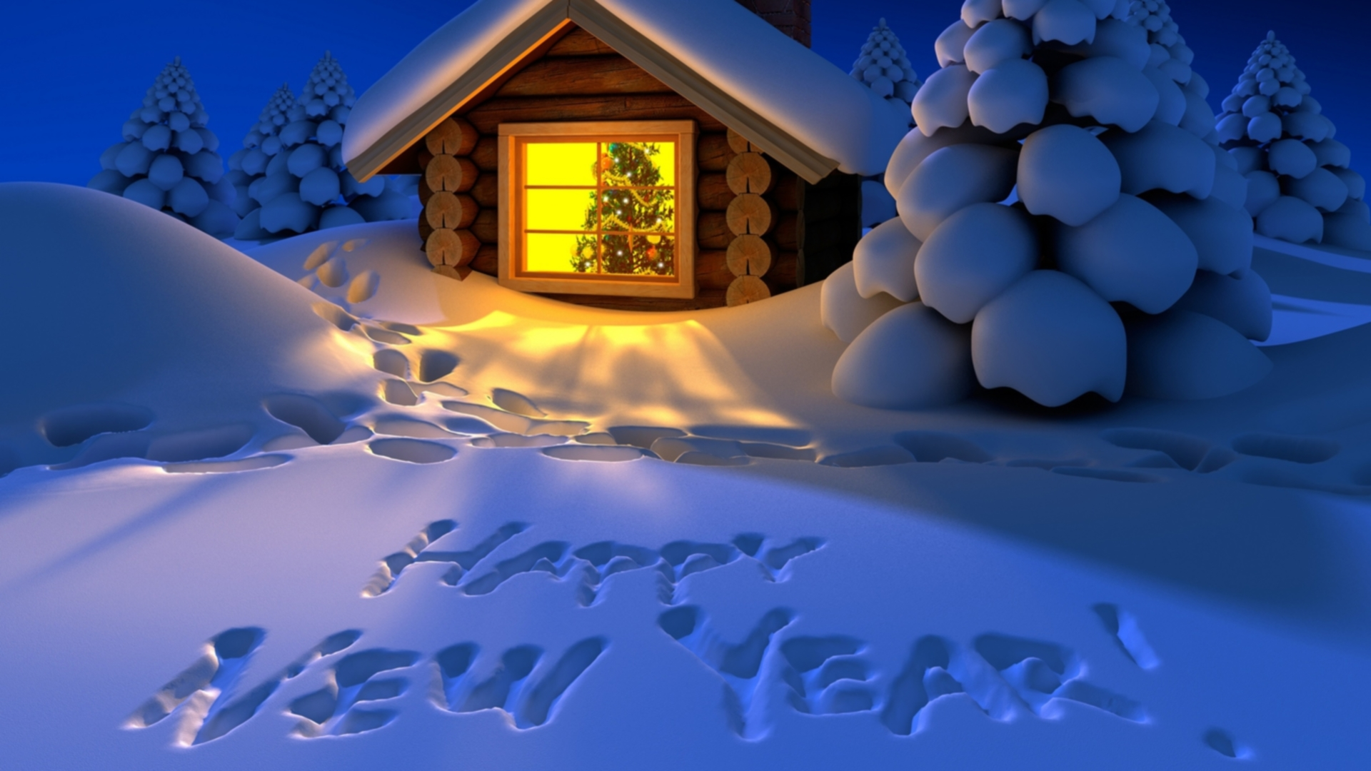 New Year Full HD Wallpaper And Background Image