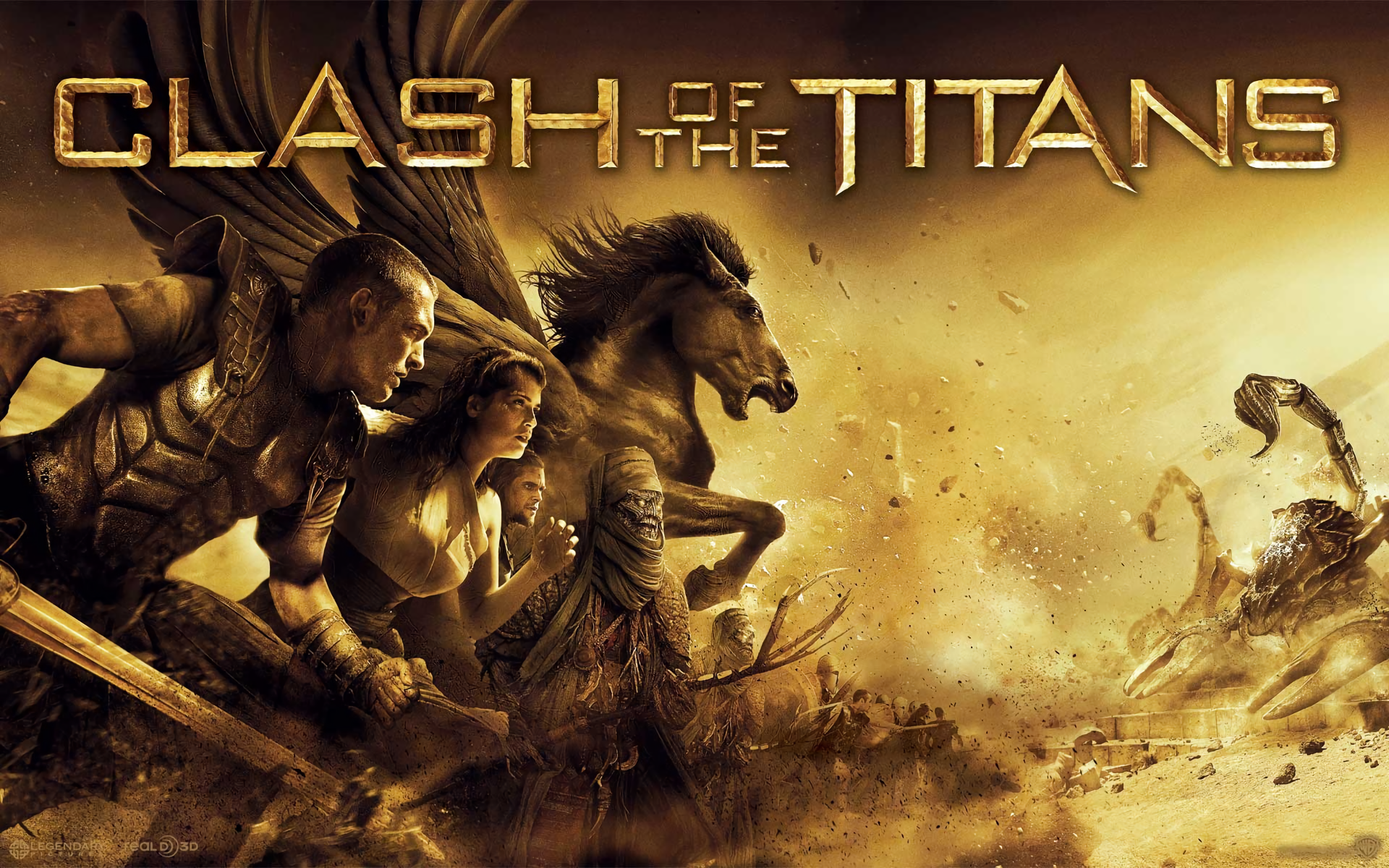 Clash Of The Titans 2010 Hd Wallpaper Background Image