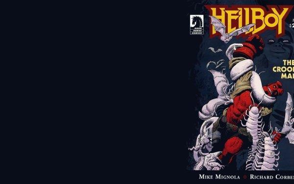 Comics Hellboy HD Wallpaper   Background Image