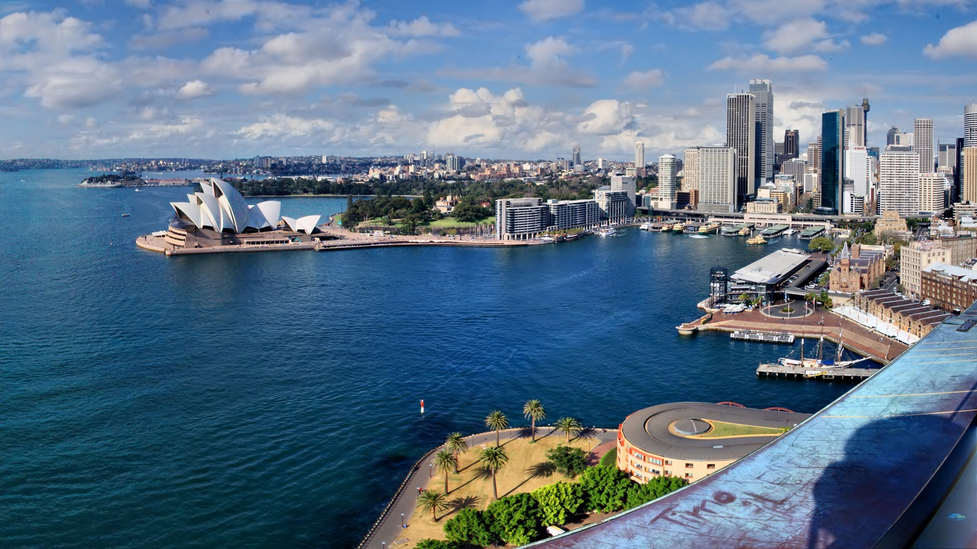 australia downtown full hd wallpaper and background image