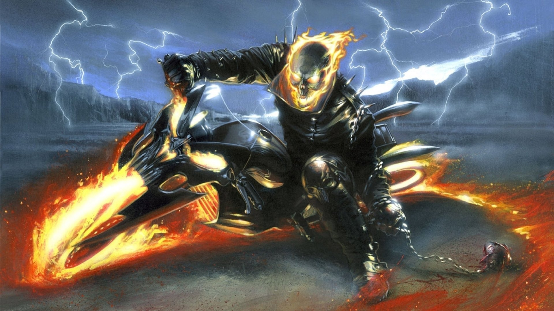 Ghost Rider HD Wallpaper   Background Image   1920x1080 ...