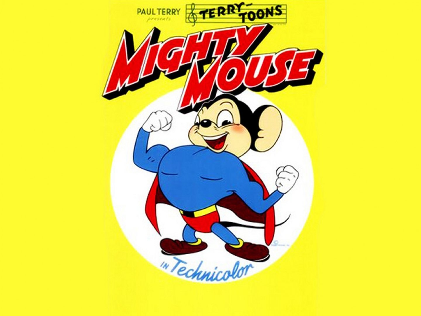 Mighty Mouse Wallpaper And Background Image 1440x1080 Id