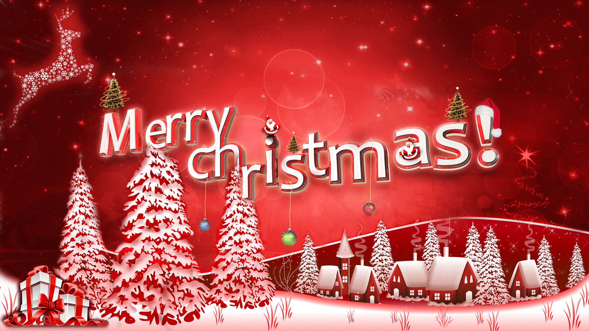 Christmas Hd Wallpaper Background Image 1920x1080 Id