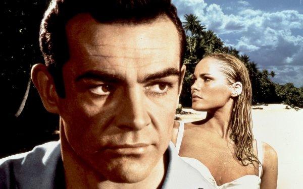 Movie Dr. No Sean Connery Ursula Andress James Bond Honey Ryder HD Wallpaper | Background Image