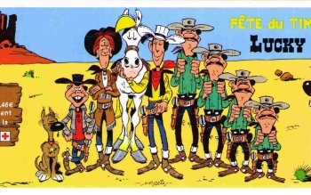 Cartoni - Lucky Luke Wallpapers and Backgrounds ID : 472670