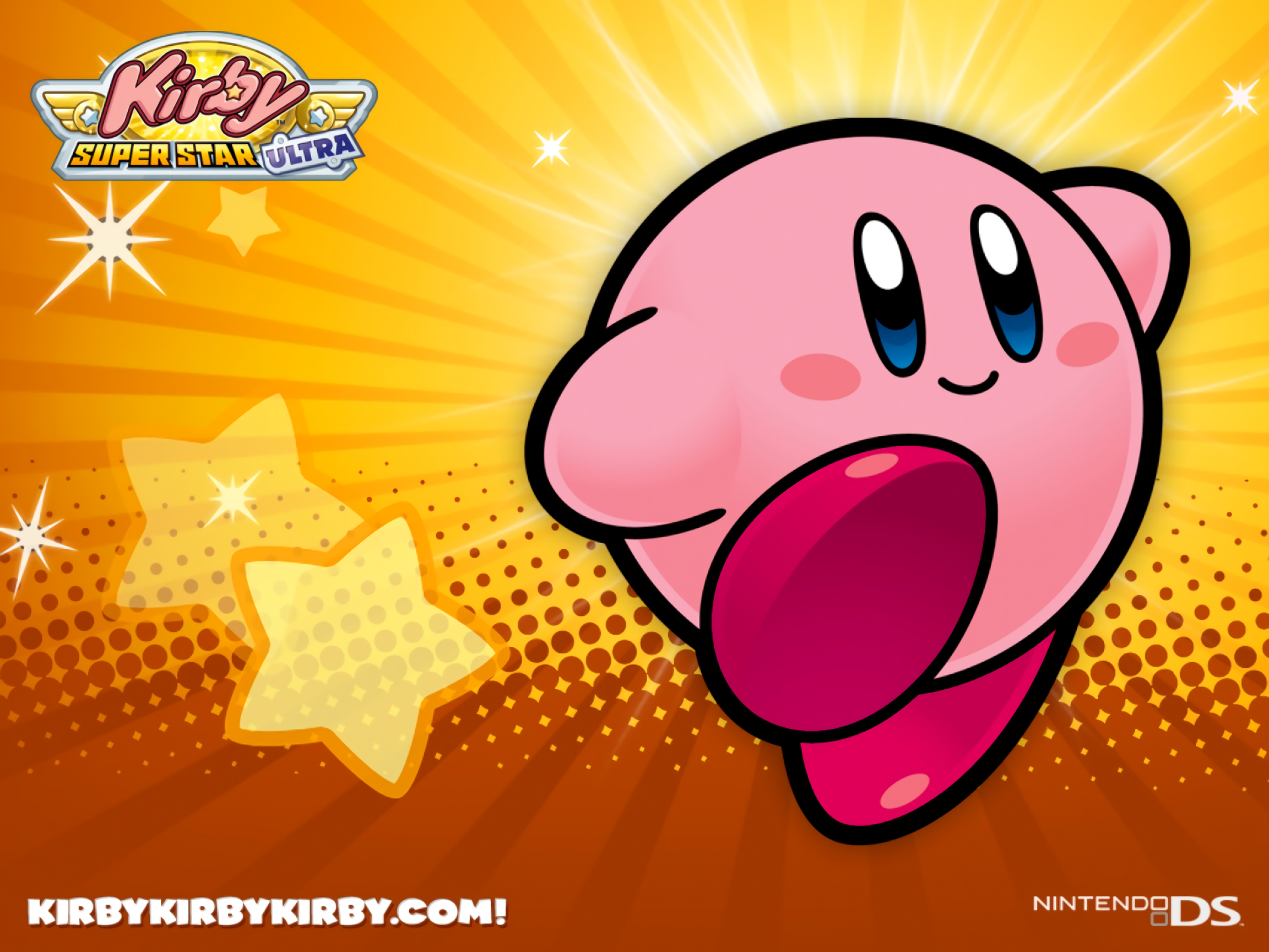 Kirby Super Star Ultra Full HD Wallpaper And Background Image