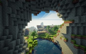 Video Game - Minecraft Wallpapers and Backgrounds