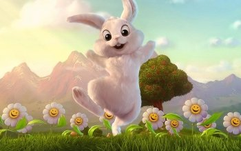 Cartoon - Rabbit Wallpapers and Backgrounds ID : 473481