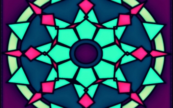 Abstract - Fractal Mandala Wallpapers and Backgrounds ID : 473695