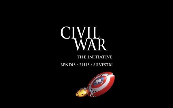Bande-dessinées Civil War Captain America Iron Man Fond d'écran HD | Image