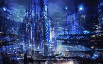 Sciencefiction - Stad Wallpapers and Backgrounds ID : 475077