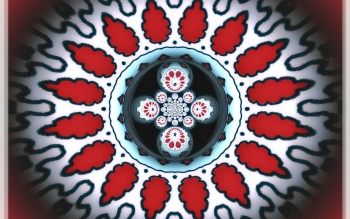 Abstract - Fractal Mandala Wallpapers and Backgrounds ID : 475441