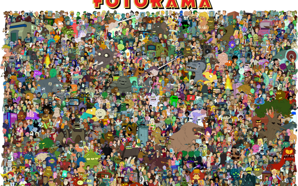 TV Show Futurama Bender Lelea Fry HD Wallpaper   Background Image