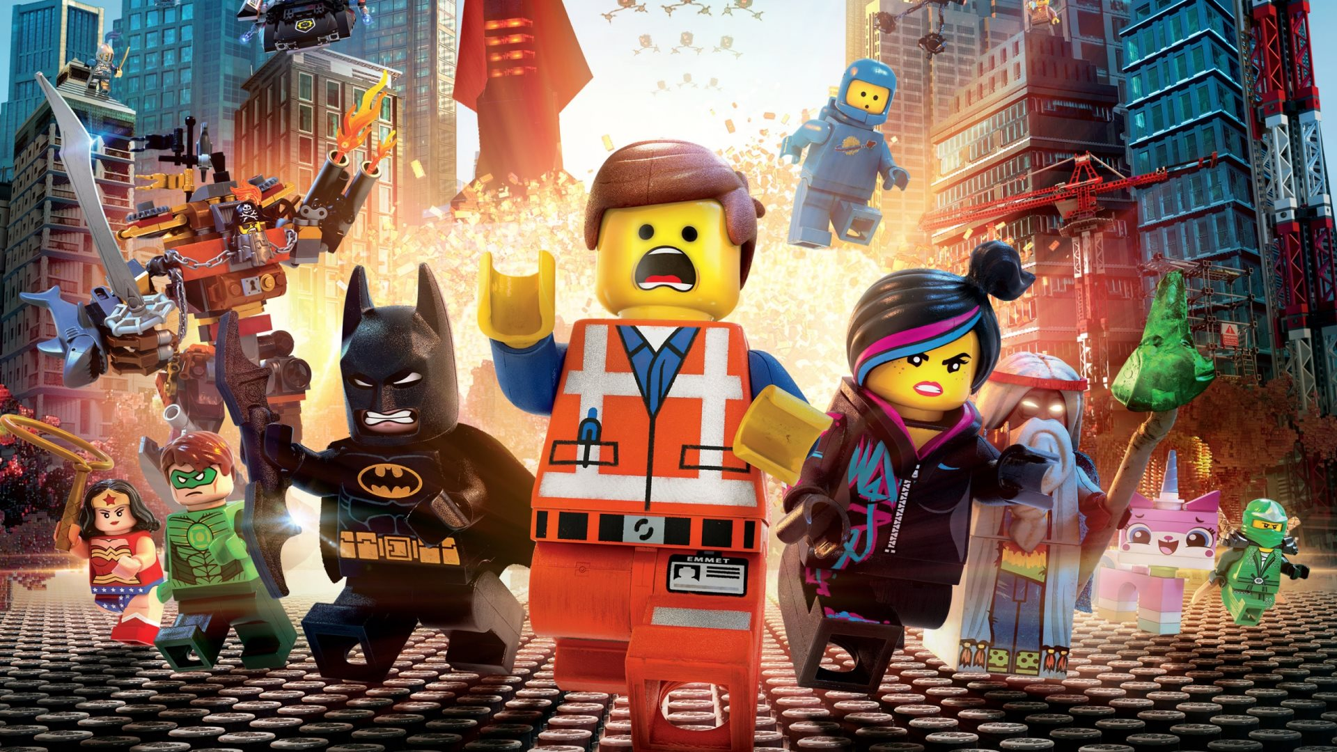 44 Emmet The Lego Movie HD Wallpapers Backgrounds Wallpaper