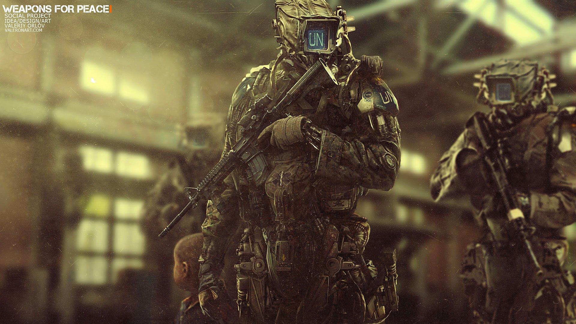 Sci Fi - Warrior  Wallpaper
