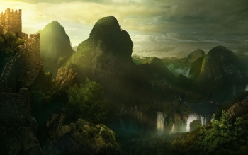 Fantasy - Landscape Wallpapers and Backgrounds ID : 476541