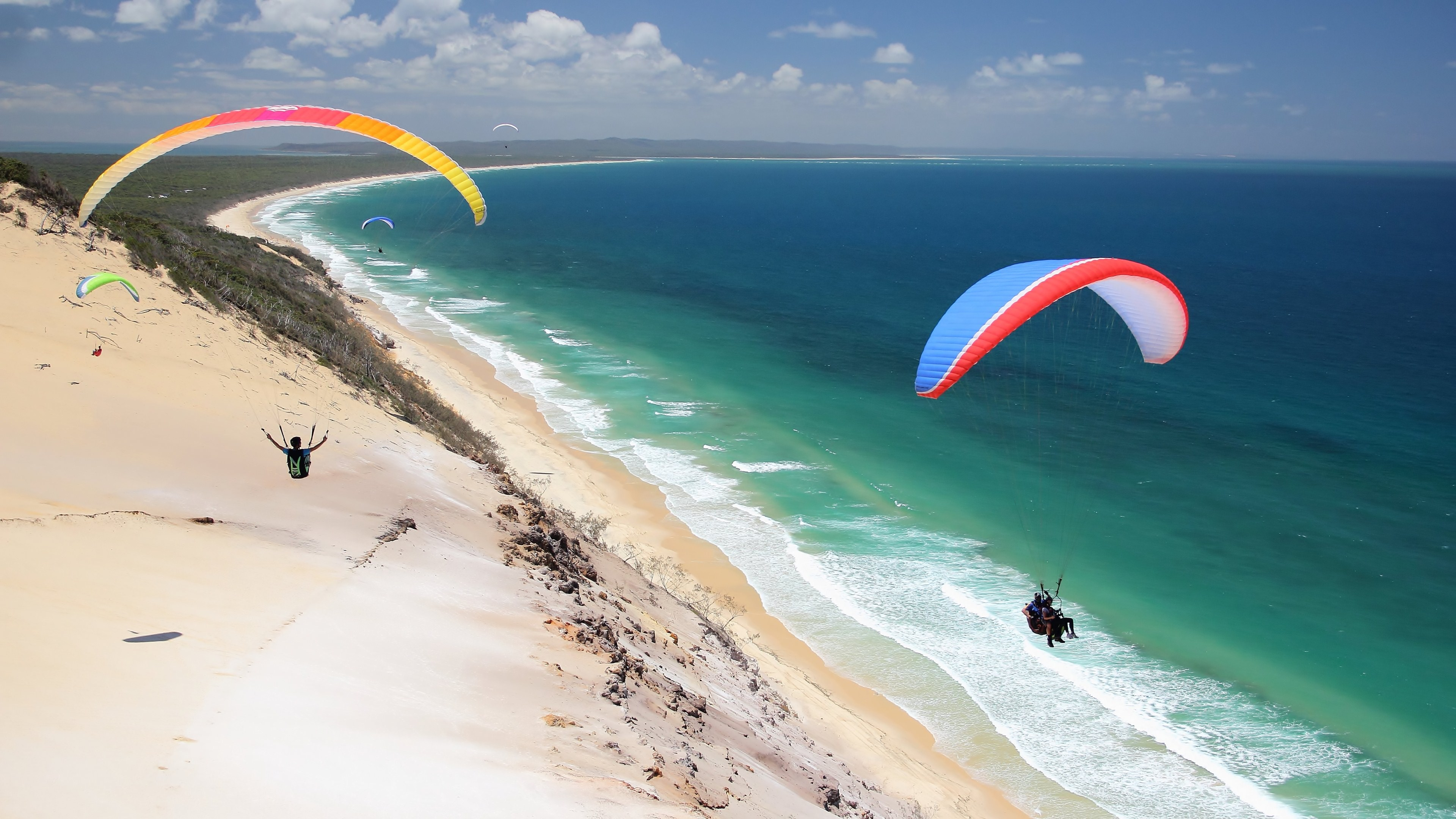 Paragliding 4k Ultra HD Wallpaper and Background ...