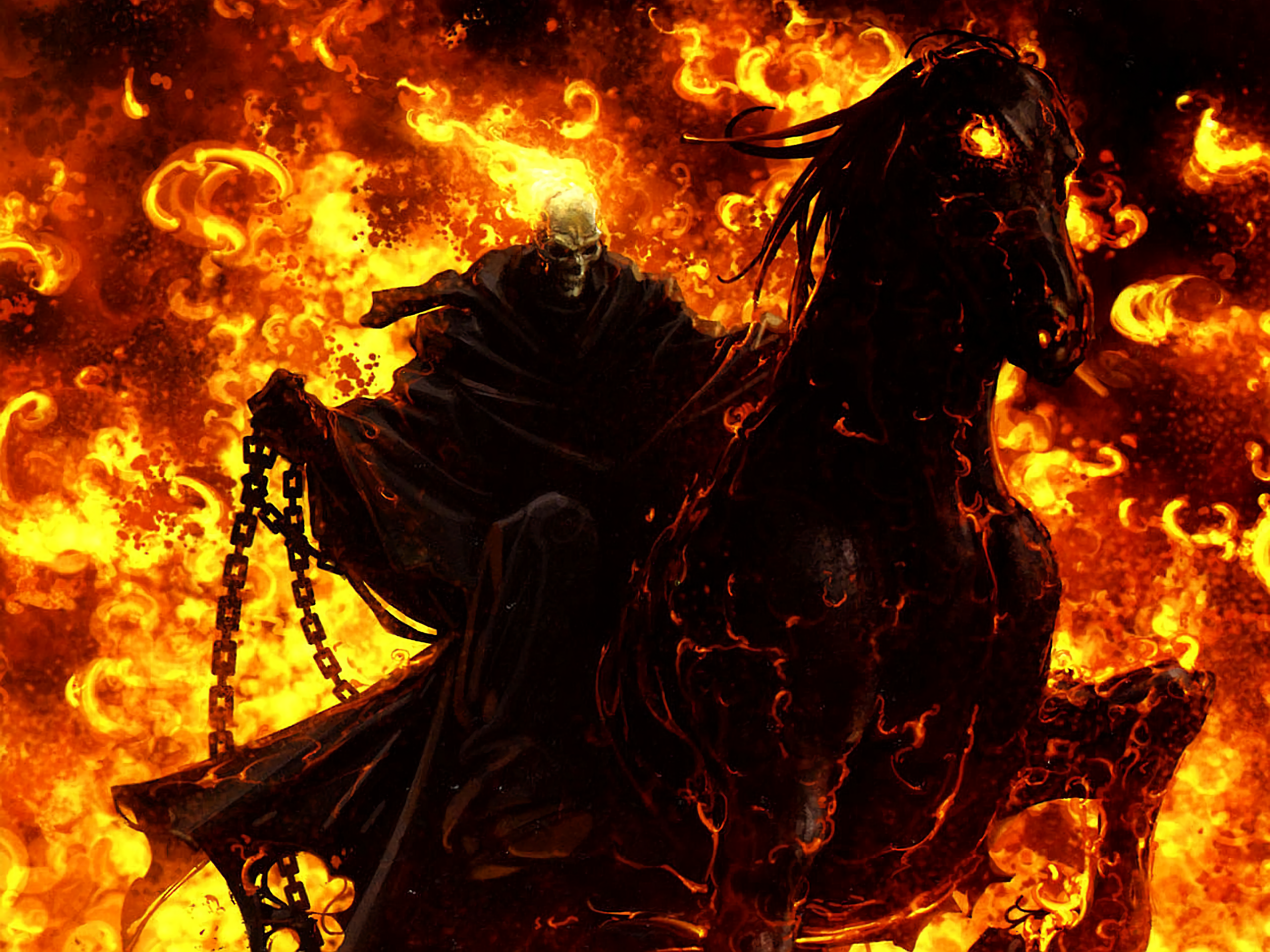 ghost rider full hd wallpaper and background 2560x1920